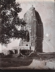 The great brick Shiva Temple at Konch, Gaya District